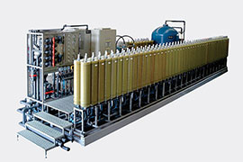 两级DTRO渗滤液处理